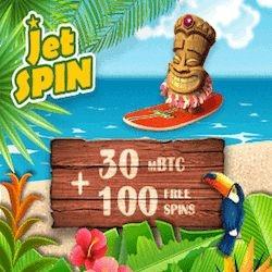 Jet Spin Casino Free Spins No Deposit