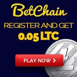 Betchain Casino Litecoin No Deposit Bonus