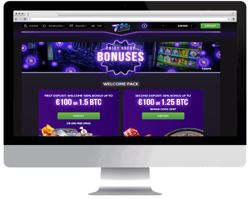 7bitcasino bitcoin casino no deposit bonus