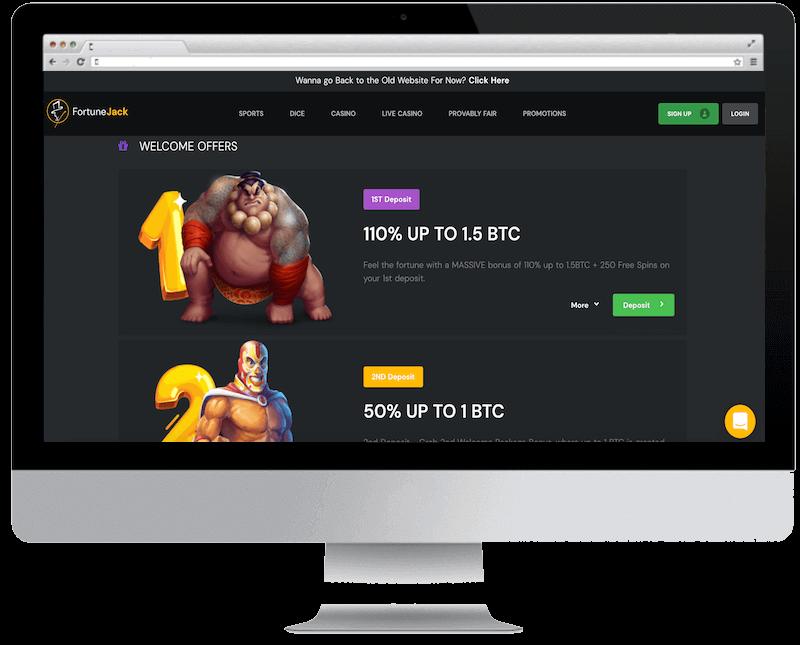fortunejack bitcoin casino no deposit bonus