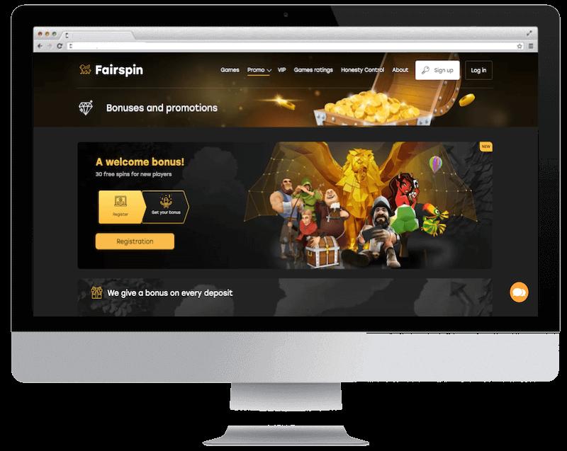 fairspin bitcoin casino no deposit bonus spins