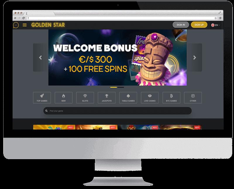 golden star bitcoin casino no deposit bonus spins