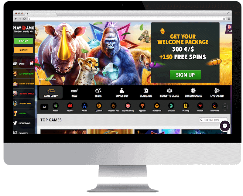 playamo bitcoin casino free spins bonus