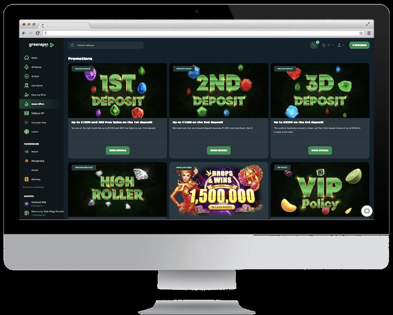 greenspin bitcoin casino no deposit bonus spins